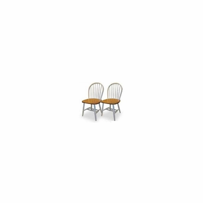 Beechwood Windsor Chairs - Set of 2 - Winsome Trading - XX999
