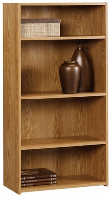 Beginnings 4 Shelf Bookcase Oregon Oak - Sauder Furniture - 410647