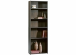 Beginnings 5-Shelf Bookcase Cinnamon Cherry - Sauder Furniture - 409090