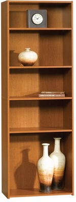 Beginnings 5-Shelf Bookcase Mission Cherry - Sauder Furniture - 409596