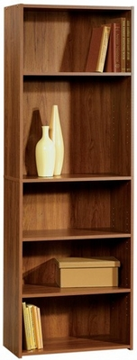 Beginnings 5 Shelf Bookcase Pecan - Sauder Furniture - 410395