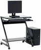 Beginnings Computer Cart Black / Black - Sauder Furniture - 409027