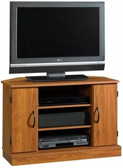 Beginnings Corner TV Stand Pecan - Sauder Furniture - 409037