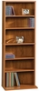 Beginnings Multimedia Storage Tower Pecan - Sauder Furniture - 409022