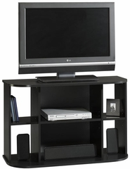 Beginnings Panel TV Stand Black - Sauder Furniture - 408525