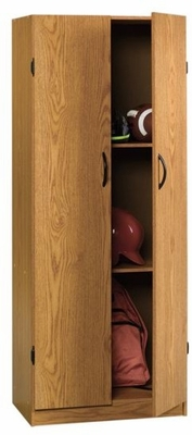Beginnings Storage Cabinet Oregon Oak - Sauder Furniture - 403918