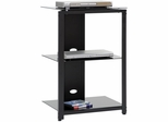 Beginnings Technology Pier Black / Black - Sauder Furniture - 408946
