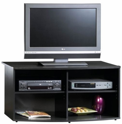 Beginnings Universal TV Stand Black - Sauder Furniture - 400831