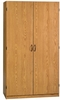 Beginnings Wardrobe / Storage Cabinet Oregon Oak - Sauder Furniture - 404002