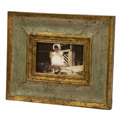 "Bela Wood Photo Frame - 4 x 6"" - IMAX - 5527"