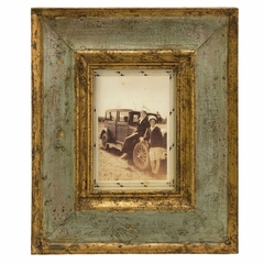 "Bela Wood Photo Frame - 5 x 7"" - IMAX - 5526"