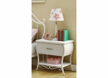 Bella Youth White Nightstand - 400522