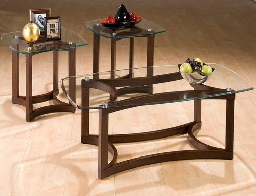 Bellingham Brown 3-Pack Occasional Table Set - 107G
