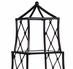 Bellisimo Mirrored Tabletop Etagere - IMAX - 10680