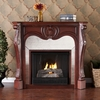Belmont Cherry Gel Fireplace - Holly and Martin