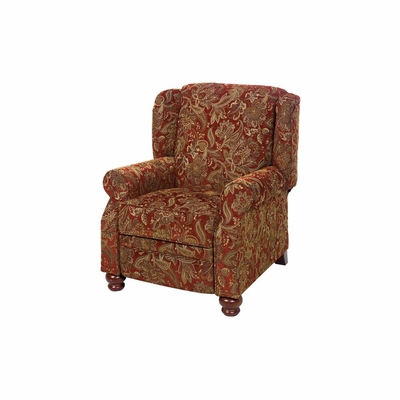 Belmont Reclining Chair in Red - Jackson Furniture