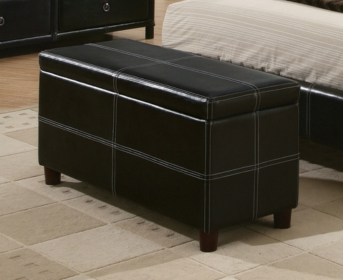Bench - Danielle Bench in Dark Brown / Cappuccino - Coaster - 201266