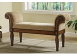 Bench in Brown - Coaster - 100224