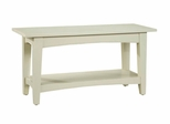 Bench in Sand - Shaker Cottage - Alaterre - ASCA03SA