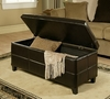 Bentley Leather Storage Ottoman - Abbyson Living - LI-HT046-OT