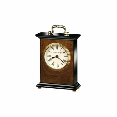 Berkley Quartz Table Clock in Walnut - Howard Miller