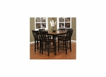 Berkshire 7pc Counter Height Set with Homestead Stools - American Hertiage - AH-713625