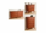 Berkshire Furniture Collection in Cherry - Prepac Furniture