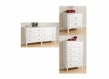 Berkshire Furniture Collection in White - Prepac Furniture