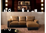 Beverly Brown Sectional Sofa - Abbyson Living - LI-HB157-BRN