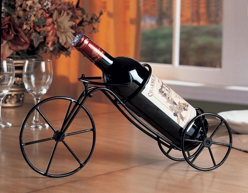 Bicycle Shaped Wine Rack - Set of 6 - 900033