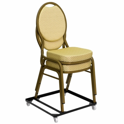 Big and Tall Steel Stack Chair and Church Chair Dolly - FD-BAN-CH-DOLLY-GG