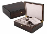 Biltmore Jewelry Box in Ebony - JBQ-SA101