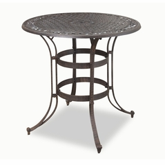 Biscayne 3-Piece Bistro Set in Rust Brown - Home Styles - 5555-359