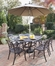 Biscayne 7-Piece Outdoor Dining Set in Rust Brown - Home Styles - 5555-338