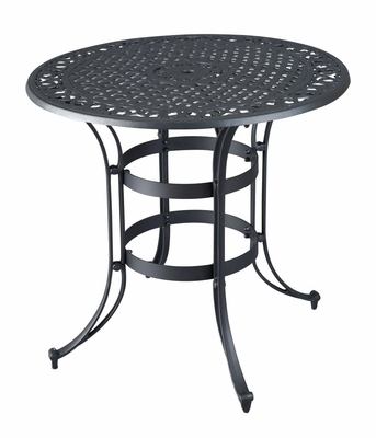 Biscayne High Top Bistro Table in Black - Home Styles - 5554-35
