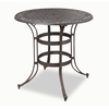 Biscayne High Top Bistro Table in Rust Brown - Home Styles - 5555-35