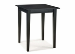 Bistro Table in Ebony - Arts and Crafts - 5181-35