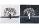 Black and White Duo Wall Art - Set of Two - 960449