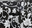 Black and White Floral Print Console with Straight Legs - Powell Furniture - 440-228
