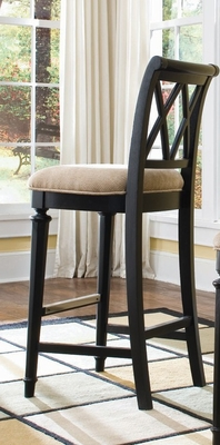 Black Camden Barstool (Set of 2) - Lea American Drew - 919-691
