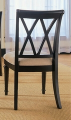Black Camden Black Side Chair - Set of 2 - Lea American Drew - 919-636