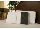 Black Diamond Ventilated King Euro Memory Foam Pillow