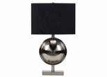 Black Fabric Shade Table Lamp - 901197