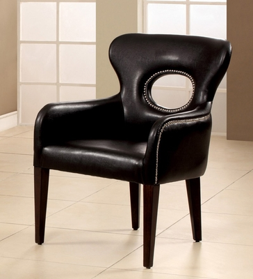 Black Finish Chair - Odo - 15054