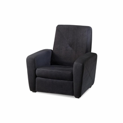 Black Gaming Chair and Ottoman - Home Styles - HS-5252-516