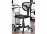 Black Mesh Adjustable Height Task Chair - 800055K
