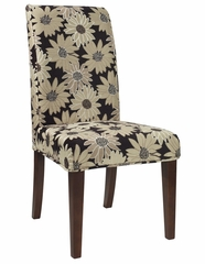 "Black Peppercorn Floral ""Slip Over"" (Fits 741-440 Chair) - Powell Furniture - 741-265Z"