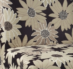 "Black Peppercorn Floral ""Slip Over"" for Counter Stool or Bar Stool - Powell Furniture - 742-265Z"
