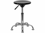 Black Plastic Adjustable Stool - BT-131-1-GG