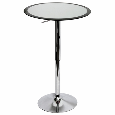 Black Ribbon Bar Table - LumiSource - BT-TW-RIBBON-BK